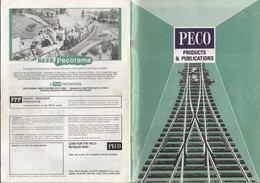 Catalogue PECO 1988 Gauge O OO 009 (HOe) N - Boeken En Tijdschriften