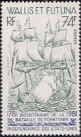N°277/778** La Paire  Bataille De Yorktown - Wallis En Futuna