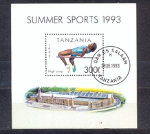 TANZANIA - SPORT - ATHLETICS -  MI.NO.BL 212 - CV - 2,5 € - Tanzania (1964-...)