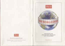 Catalogue PECO 1989 Gauge O OO 009 (HOe) N - Boeken En Tijdschriften