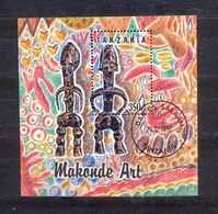 TANZANIA - MAKONDE ART -  MI.NO.BL 208 - CV - 4,2 € - Tanzania (1964-...)