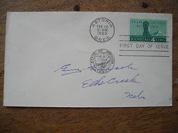 1959 FDC Astoria Oregon  Statehood - Premiers Jours (FDC)
