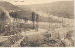 HOUX : Panorama - CPA PEU COURANTE - Courrier De 1929 - Yvoir