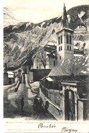 FR38 BOURG D'OISANS - L'église Vue Des Mines De La Gardette - Animée - Belle - Bourg-d'Oisans