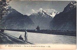 FR38 BOURG D'OISANS - La Romanche Et Le Pelvoux - Animée - Belle - Bourg-d'Oisans