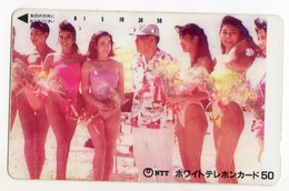 TELECARTE JAPON PIN-UP - Telefoonkaarten