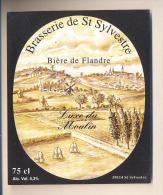 Etiquette De Bière   -   De Flandre  -  Brasserie à Saint Sylvestre  (59) - Bier