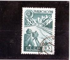 CG39 - 1959 Russia - Anno Int. Geofisica - Studio Dei Ghiacciai - International Geophysical Year