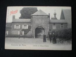 MONS - HAVRE - L'ENTREE DU CHATEAU - NELS SERIE 107 N 37 - Mons