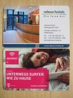 Relexa Hotel Stuttgarter Hof Berlin - Cartes D'hotel
