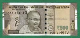 India Inde Indien - 500 Rupees / INR Banknote P-114 - 2019 UNC ( Sign. Shaktikanta Das -- Letter L ) - As Scan - Indien