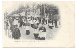 ORLEANS : PROCESSION DE LA FETE DE JEANNE D'ARC - LES EVEQUES - Orleans