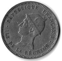 BON POUR UN  FRANC 1896 REUNION - Réunion
