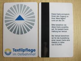 Textilpflege Im Ostbahnhof - Hotelkarten