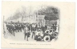 ORLEANS : PROCESSION DE LA FETE DE JEANNE D'ARC - LE CONSEIL MUNICIPAL - Orleans