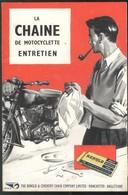 Livret Publicitaire Renold - La Chaine De Motocyclette - Entretien - Moto