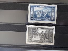 MONACO  Paysages De La Principauté N° 133 Et 134  Neufs Sans Gomme Voir Scan - Nuovi