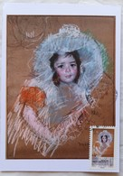 Carte Maximum Card  Portrait Par Mary Cassatt   France 2016 Cachet Paris 7 Ecole - Otros