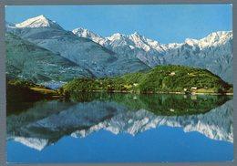 °°° Cartolina - Riflessi Sul Lago Di Como Viaggiata °°° - Bergamo