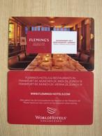 Fleming's Selection Frankfurt City - Cartes D'hotel