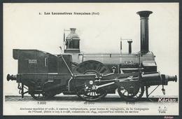 Les Locomotives Françaises Etat / Ouest - Machine N° 0131 Type 111 - N°1 F. Fleury - Voir 2 Scans - Treinen