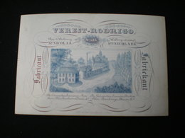 ST. NICOLAES - WALLBORGSTRAET - FABIKANT VEREST - RODROGO - CARTE PORCELAINE 12.5 X 8.5 - Sint-Niklaas
