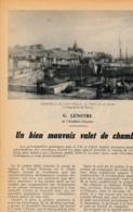 1954 : Document, POLIGNAC (1830), Un Bien Mauvais Valet De Chambre, Granville (Manche), Le Port, Le Quai, Arrestation - Collections