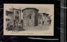 CARTE POSTALE Environs Du Puy Le Temple De Diane A Aiguilhe En L'état Sur Les Photos - Le Puy En Velay
