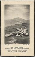 DP. OORLOG 40-45 -ANDRE DEGRYSE ° RUMBEKE 1921 - + BRAUNSCHWEIG (DUITSLAND) 1942 - Godsdienst & Esoterisme