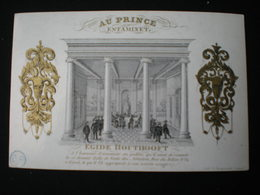 GAND - RUE DU BELIER - AU PRINCE ESTAMINET - CARTE PORCELAINE 13.5 X 8.5 - Gent
