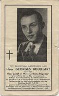 DP. OORLOG 40-45 GEORGES BOUILLART ° STEENKERKE 1918 + CONCENTRATIEKAMP MAUTHAUSEN (OOSTENRIJK) 1945 - Godsdienst & Esoterisme