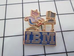 1120 Pin's Pins / Beau Et Rare / THEME : JEUX OLYMPIQUES / BARCELONA IBM INFORMATIQUE MASCOTTE - Olympic Games