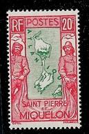 SPM MIQUELON YT 159 NEUF* TB - Unused Stamps