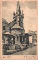 FR38 CORPS - Fontaine Et église - Corps