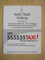 Hotel Stadt Freiburg - Hotelkarten