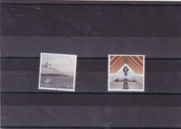 ILES FEROE : église Frédérik : Y&T : 342**343** - Faroe Islands