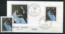 (CL 29 - P 7) Italie Ob - N° 1230 + S/ Env. 1er Jour - Tableau De Spadini - Otros