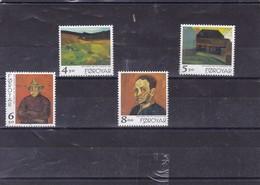 ILES FEROE : Hommage Au Peintre Hans Hansen : Y&T : 338** à 341** - Faroe Islands