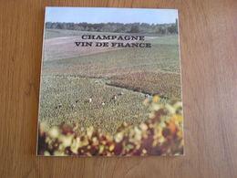CHAMPAGNE VIN DE FRANCE Régionalisme Reims Epernay Vendanges Viticulture Vignoble - Champagne - Ardenne