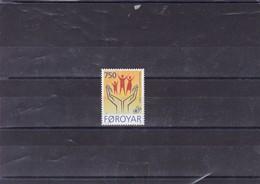 ILES FEROE : Cinquantenaire De La Déclaration Des Droits De L'homme: Y&T : 336** - Faroe Islands