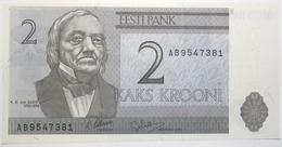 Estonie - 2 Krooni - 1992 - PICK 70a - NEUF - Estonie