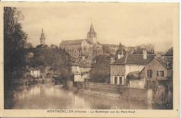 Montmorillon - La Gartempe Vue Du Pont Neuf - Montmorillon