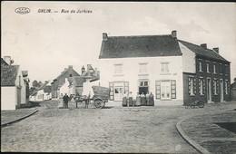 AK/CP Ghlin  Rue De Jurbise   Mons   Gel/circ.  1914-18   Erhaltung/Cond.  2  Nr. 01057 - Mons