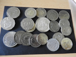 Konvolut Kürsmünzen Aus Aller Welt - Monnaies
