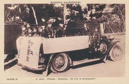 Japon Autobus Missions Salésiennes Propagande .  . Bus With Children - Japan