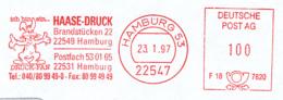 Freistempel 0613 Haase Druck Hase - Poststempel - Freistempel