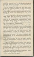 DP. OORLOG 40-45  ANDREAS DECLERCQ ° IZEGEM 1922 - + GRAVELINES (FR.) 1940 - STUDENT POESIS COLLEGE IZEGEM - Godsdienst & Esoterisme