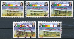 °°° CAMERUN - Y&T N°909/10/11/13/15 - 2005 °°° - Cameroon (1960-...)