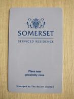 Somerset Serviced Residence - Cartes D'hotel