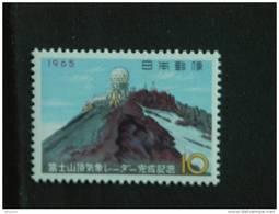 Japan Japon Nippon 1965 Station Radar Météorologiquesur Le Mont Fuji Yv 795 MNH ** - 1926-89 Emperador Hirohito (Era Showa)